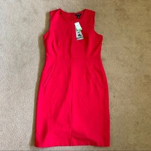 NWT Lipstick red fitted dress WITH POCKETS! 💄